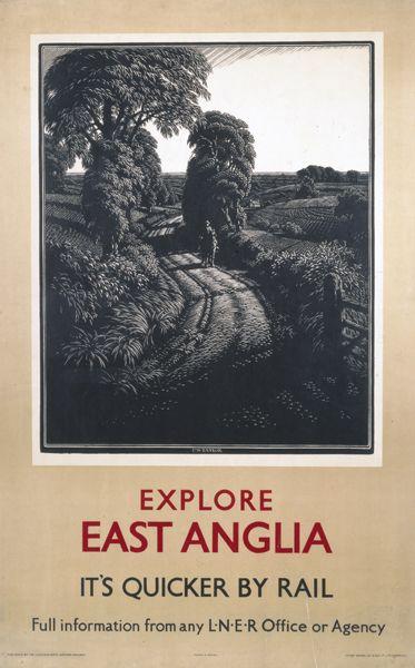 'Explore East Anglia', LNER poster, 1923-1947...17