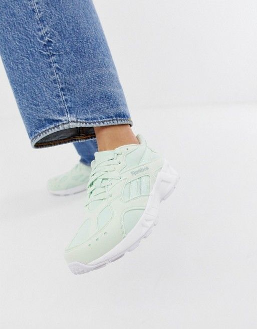 różne wzornictwo Trampki 2018 uważaj na Reebok Aztrek sneakers in Mint green | Reebok in 2019 ...