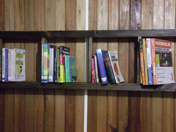 escada para livros