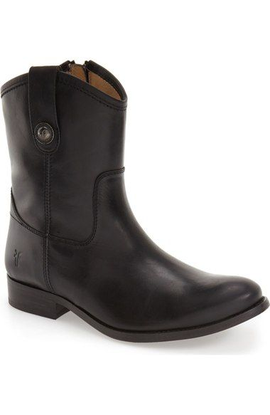 Frye 'Melissa Button' Short Boot (Women) available at #Nordstrom
