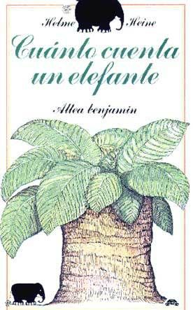Cuánto cuenta un elefante, primer libro para niños que escribió el autor, es un cuento filosófico sobre la vida, una historia para conocer mejor a los elefantes, para descubrir el uso práctico de las matemáticas, para divertirte con la imaginación del autor, disfrutar del ingenio de sus ilustraciones en negro y en definitiva, es una bonita y simpática historia.