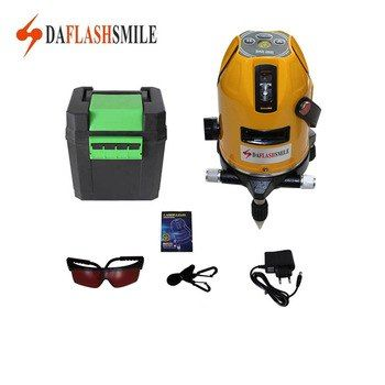 Universe Of Goods Buy 360 Vertical Horizontal Rotary Cross Laser Line 5 Lines 6 Points Laser Level Used Indoor Ou Laser Levels Cool Things To Buy Rotary