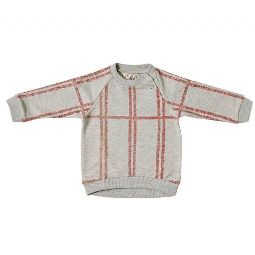 "Gro Company - Oversized-Pullover ""Gro Checked"""