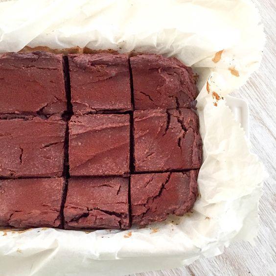 Kürbis Brownies - vegan, glutenfrei, ohne Milch, ohne Zucker