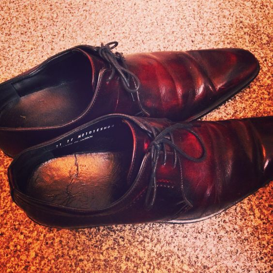 #shoes #winered