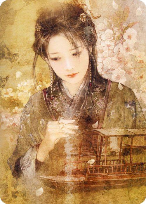 acient chinese girl