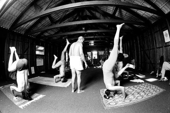 Conciencia Yoga: Guruji PattabhiJois: reliquias fotográficas
