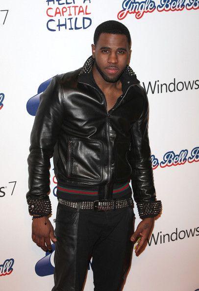 Jason derulo leather jacket