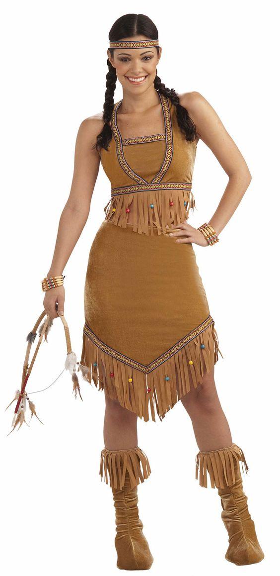 nude native american costume