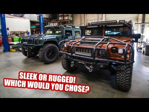 Sleek Or Rugged H1 Hummer Which Would You Choose Youtube Hummer Hummer H1 Hummer H2