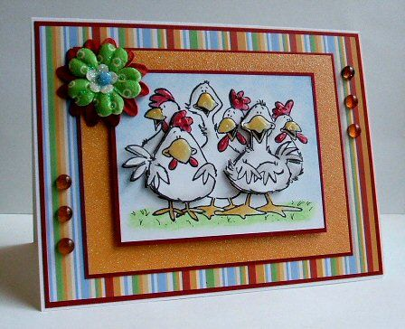 A chick gathering...