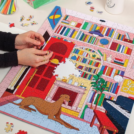 Library Greyhound Puzzle | Seltzer Goods