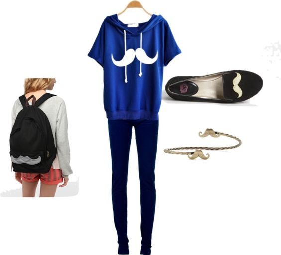 """""""MUSTACHE"""" by gabriella-rose-butler on Polyvore"""