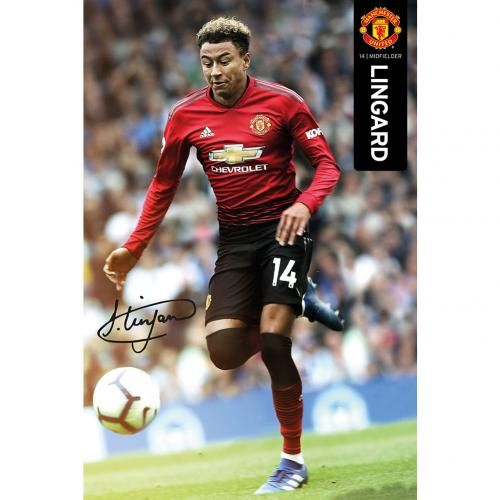 Manchester United Poster Lingard MUFC 18-19 61x91.5cm
