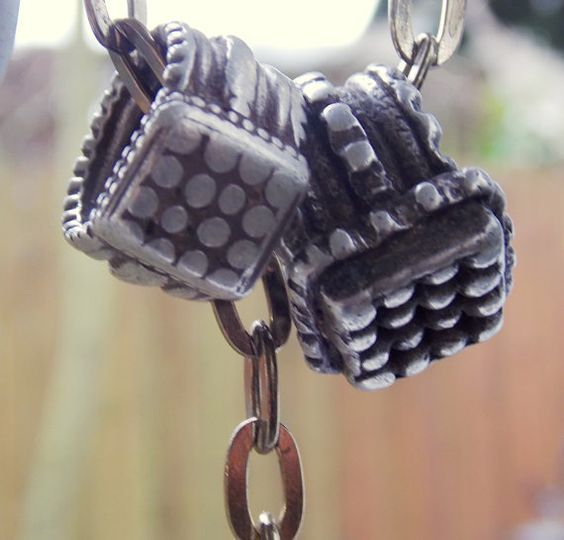TWO OLD Handmade Persian Silver Rings Jewelry from by SvelteGypsy, $45.00