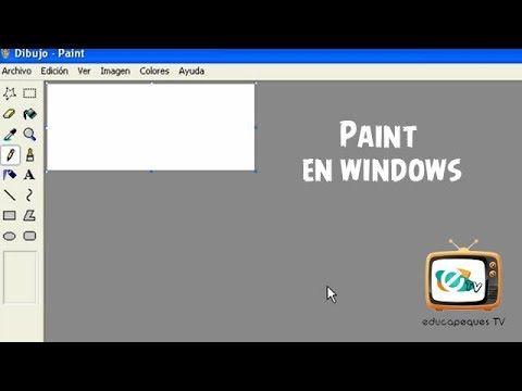 0802 Paint En Windows Programas Para Dibujar Dibujos En Paint Computacion