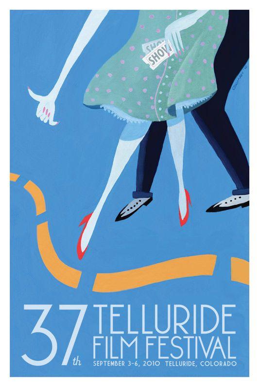 Poster from the Telluride film festival