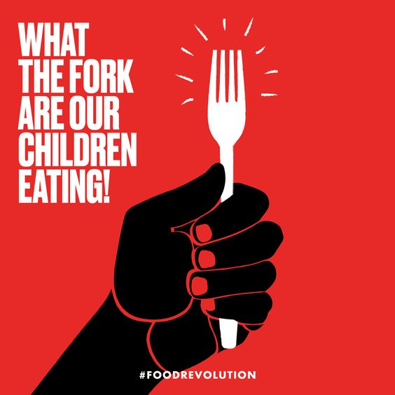 Share and join the #foodrevolution!