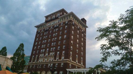 Old Asheville building
