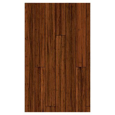 72-1/16-in x 5-1/4-in Solid Antique Bamboo Hardwood Flooring 21.27 sq ft