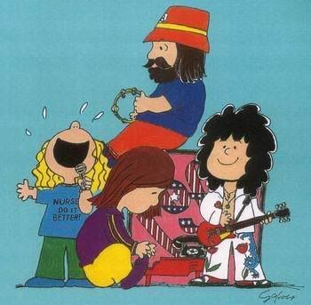 Peanuts version of Led Zeppelin #gettheledout