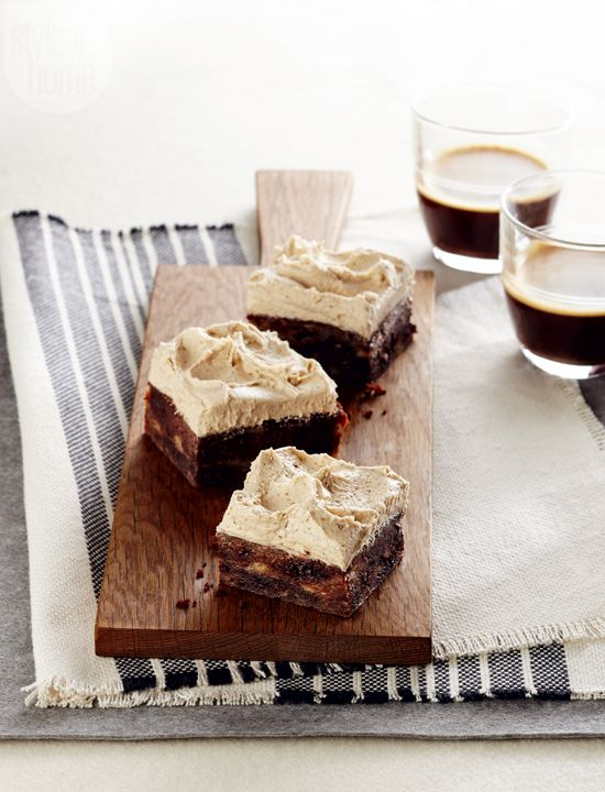 Dessert recipe: Banana bread brownies {PHOTO: Maya Visnyei}