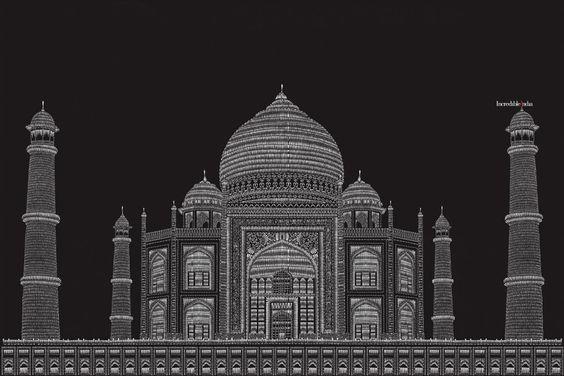Incredible India: Taj Mahal