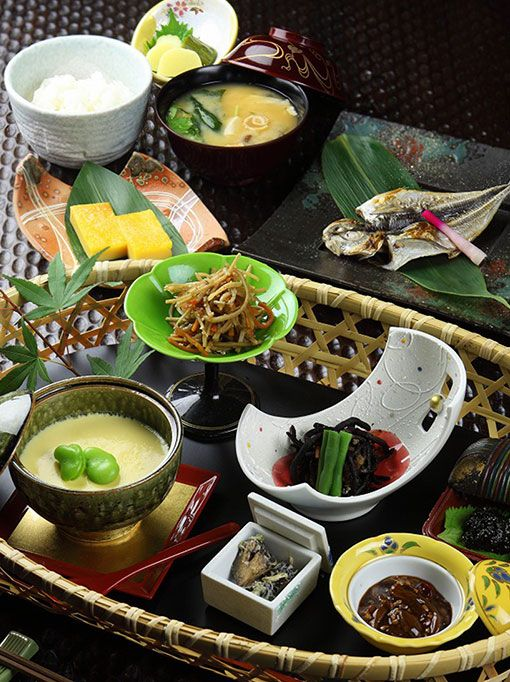 Breakfast | Four Seasons Cuisine | Yaeikan [Official]