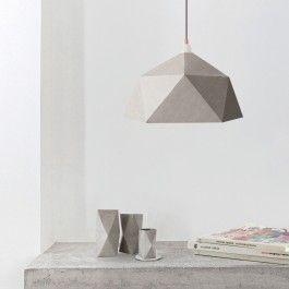 skulpturaler Lampenschirm