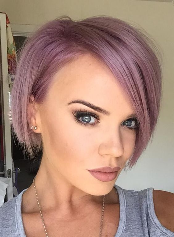 short purple bob - Google Search