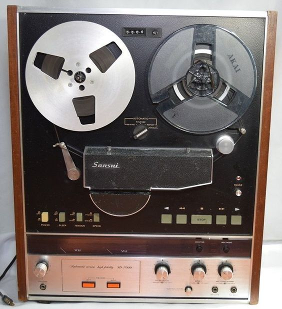 Sansui Model SD-7000 #ReeltoReel Tape Recorder #VintageElectronics 1971 PARTS OR REPAIR #Sansui