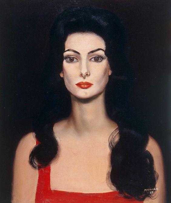 Carmen Mayrink Veiga, Cândido Portinari, 1959.