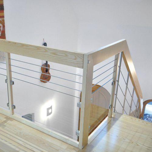 Image Par Deal Lifestyle Sur Stair Rating En 2020 Escalier Design Garde Corps Bois Balustrade En Verre