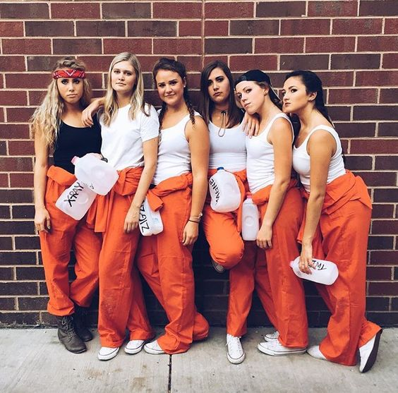 """Holes"" Group Costume"
