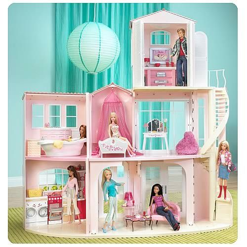 Barbie Barbie doll house and Doll houses on Pinterest