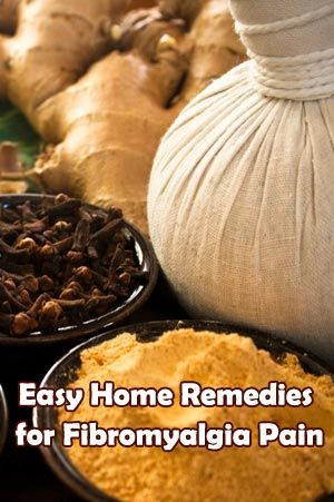 Easy Home Remedies for Fibromyalgia Pain | healthybuzzer.com
