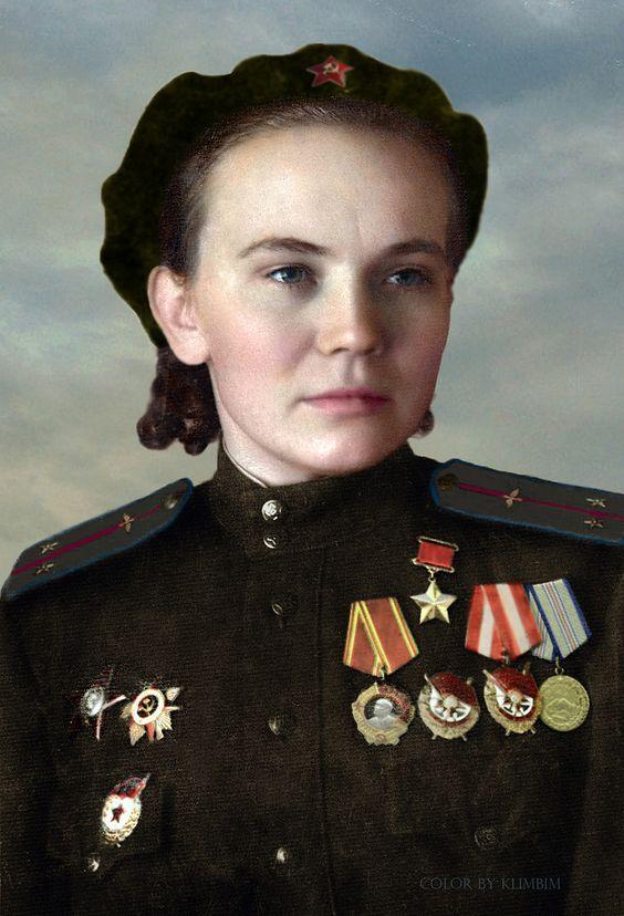 https://flic.kr/p/wNtzJS | Nina Ulyanenko | Hero of the Soviet Union.