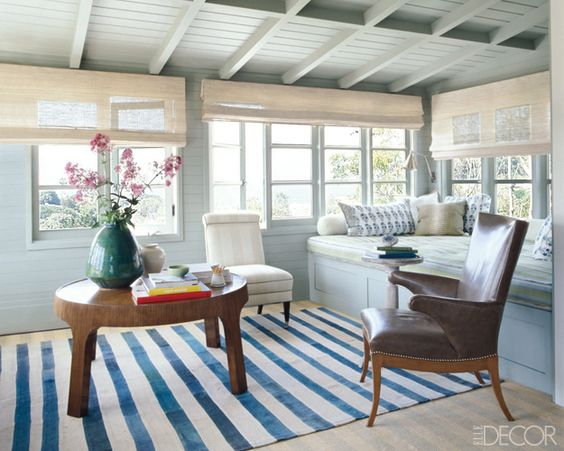 Cant stand Jeffrey Alan Marks and his smugness...but he is undisputedly good at what he does.: Beach Houses, Living Room, Family Room, House Idea, Window Seats, Sun Rooms, Sunroom