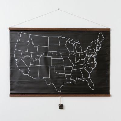 Terrain United States Chalkboard Map #shopterrain