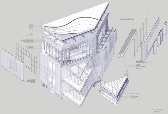 Architecture drawings and construction on pinterest for Online architecture drawing