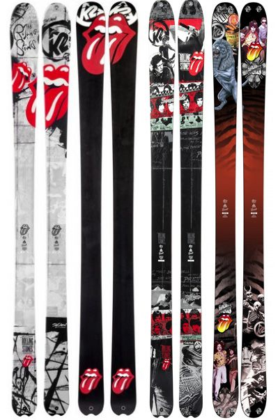 K2 Rolling Stones skis