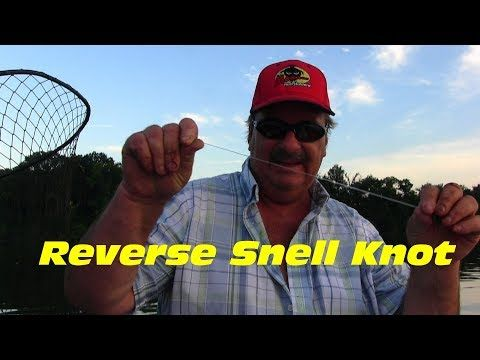 Reverse Snell Knot Snelling A Circle Hook Youtube Snell Knot Circle Hook Kayak Fishing