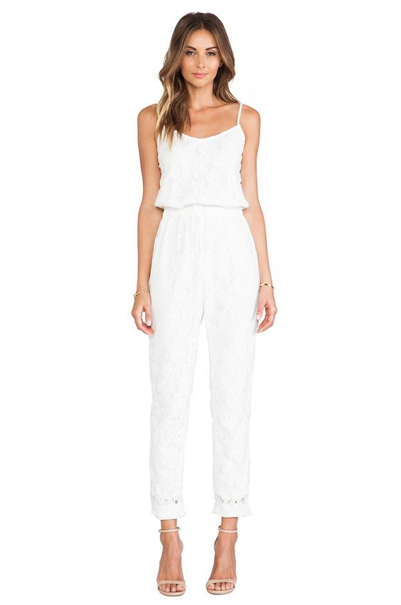 Joa Lace Jumpsuit | 17 Impossibly Pretty Solange-Inspired Bridal Jumpsuits