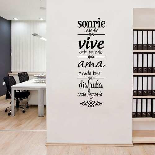 Hogar es donde el amor reside de vinilo de etiquetas de pared