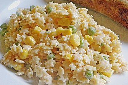 Sternchen – Nudelsalat, ein sehr schönes Rezept aus der Kategorie Snacks und kleine Gerichte. Bewertungen: 38. Durchschnitt: Ø 4,0.