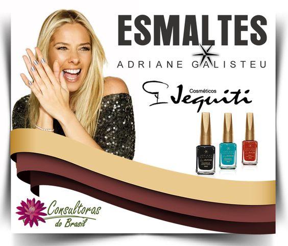 Lançamentos Jequiti Cosméticos São 10 maravilhosas tonalidades de esmaltes da linha Aviva com o nome Adriane Galisteu. Gostou da dica? Fale com uma consultora Jequiti!  #consultorasdobrasil #consultorajequiti #jequiti #esmalte #aviva #jequitiaviva #adrianegalisteu