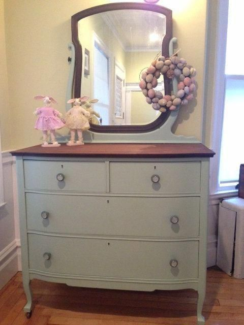 Image Result For Chalk Painted Dressers With Mirrors Shabbychicdressers Shabby Chic Dresser Furniture Inspiration Dresser With Mirror