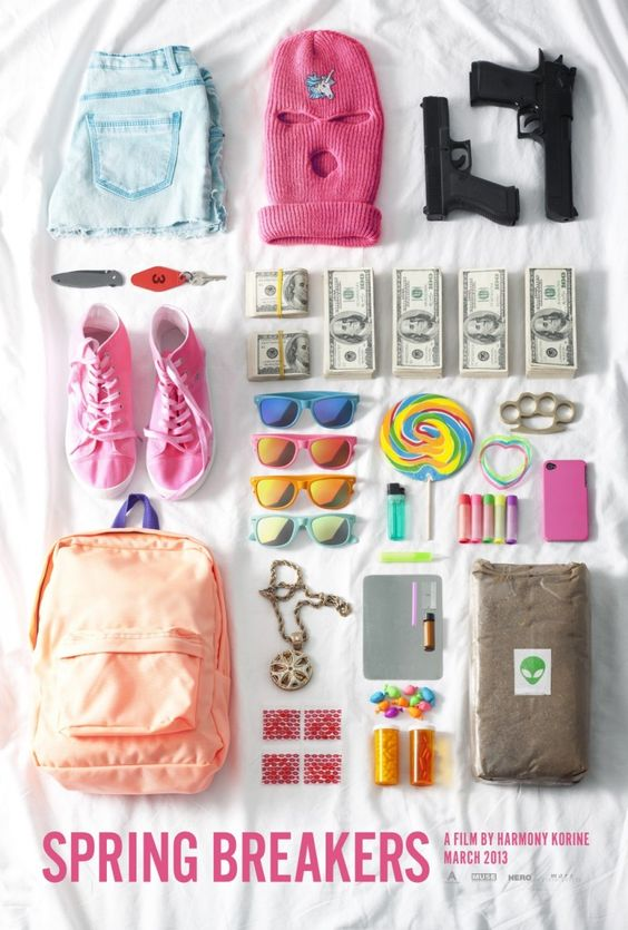 Just a few things you need for spring break ;) ---> Spring breakers