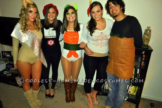 Asian Persuasion Group Halloween Costume Halloween costumes, The o - cool group halloween costume ideas