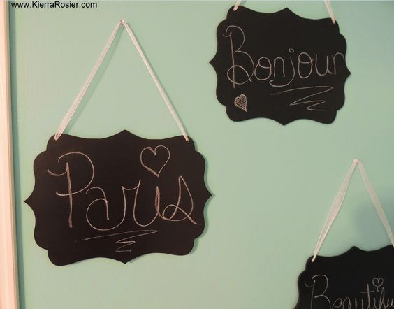 Kara Rosier: Paris Room Makeover- Eiffel Tower Themed Bedroom Pictures